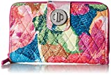 #2: Vera Bradley RFID Turnlock Wallet, Signature Cotton