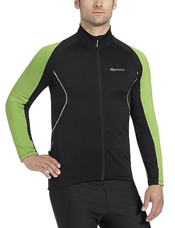 Gonso Burns - Men s Cycling Jersey Black black Size S  Amazon.co.uk ... 13e8f2a9d
