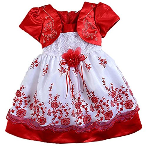 3 red bridesmaid dresses - 3