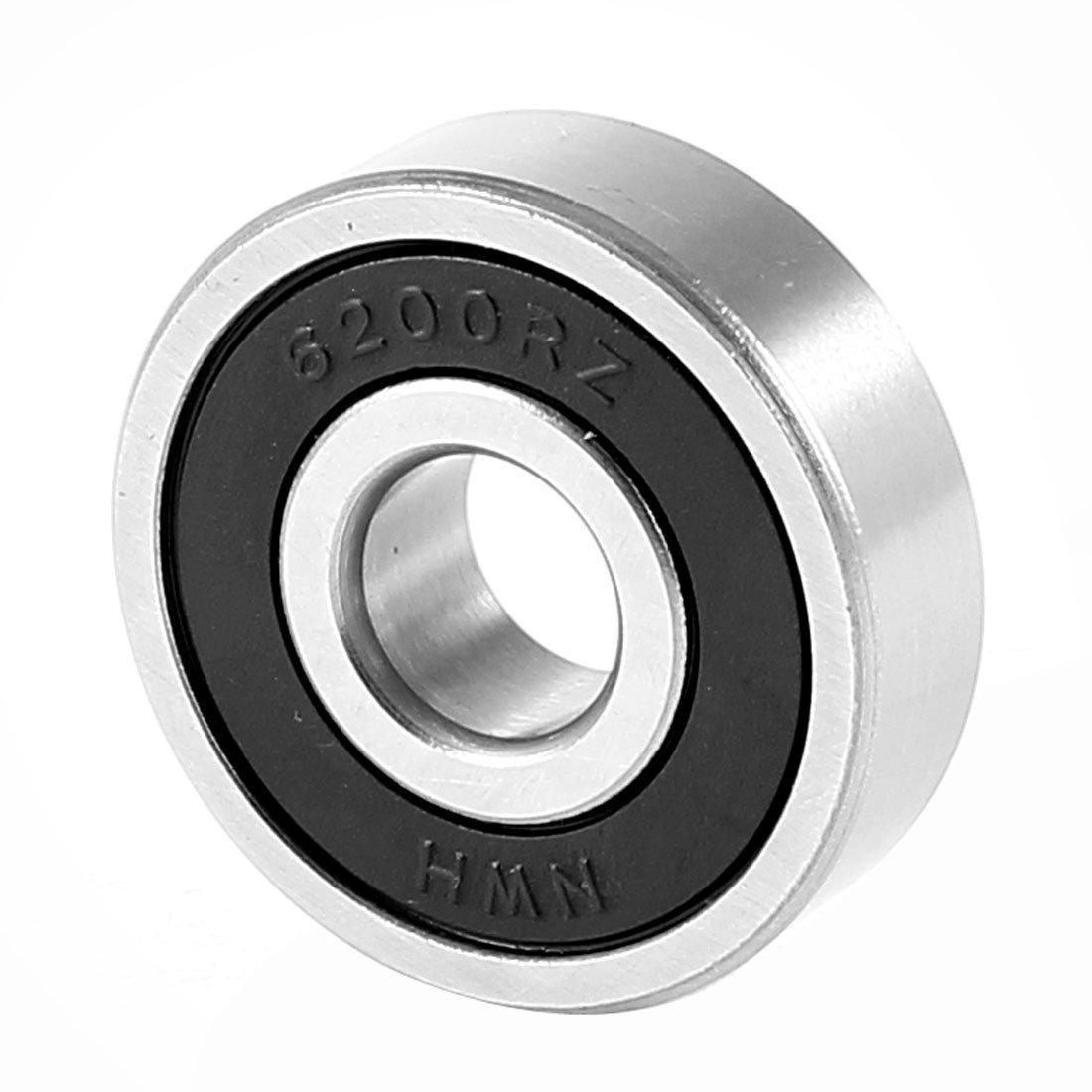 Replacement 6200RZ Deep Groove Ball Bearing 30x10x9mm