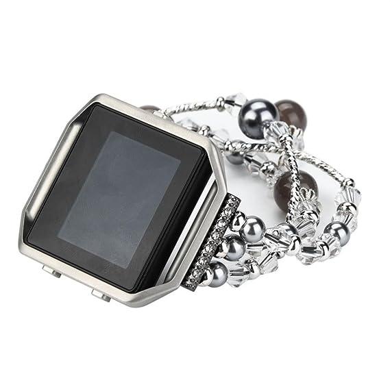 para Fitbit Blaze,PANY Correa de Reloj Pulsera de Metal Calidad Alta ...