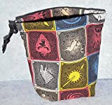Game of Thrones House Symbols Cloth Dice Bag