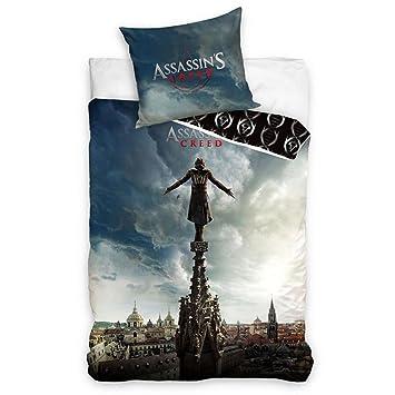 Assassins Creed Ubisoft Bettwäsche 160x200cm Asg163018 Amazonde