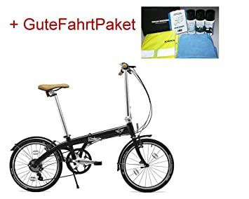 Original Mini Folding Bike bicicleta plegable para bicicleta plegable bicicleta BMW 80912413798 + Buena conducción funda