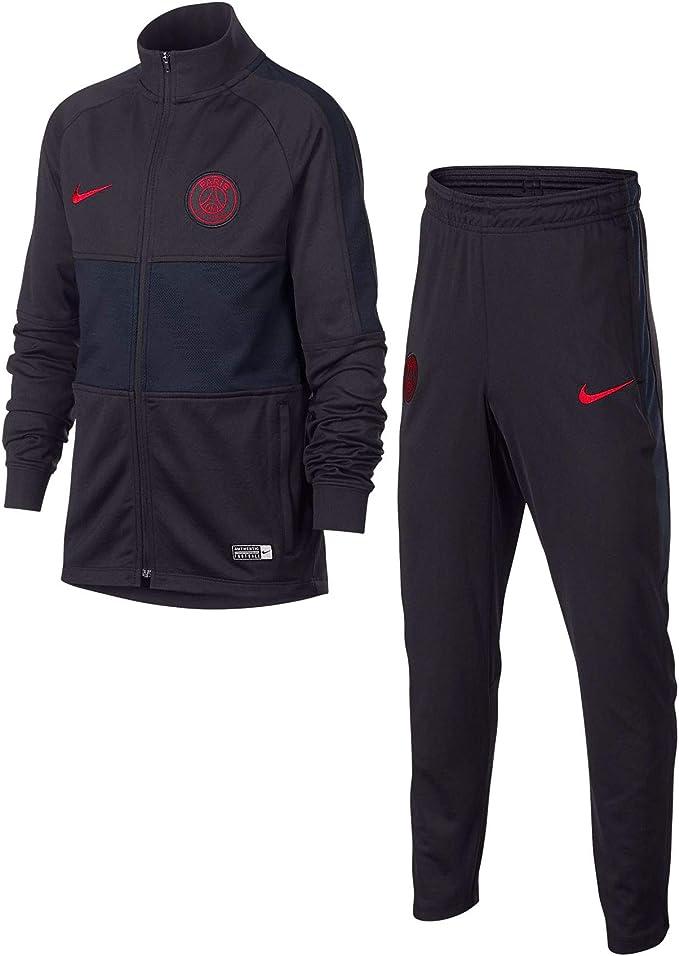 Desconocido Nike PSG Y Nk Dry Strk TRK Suit K Chándal, Unisex ...