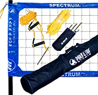 Park & Sun Sports Spectrum Classic: Portable Professional Outdoor Volleyball Net System by Park & Sun Sports