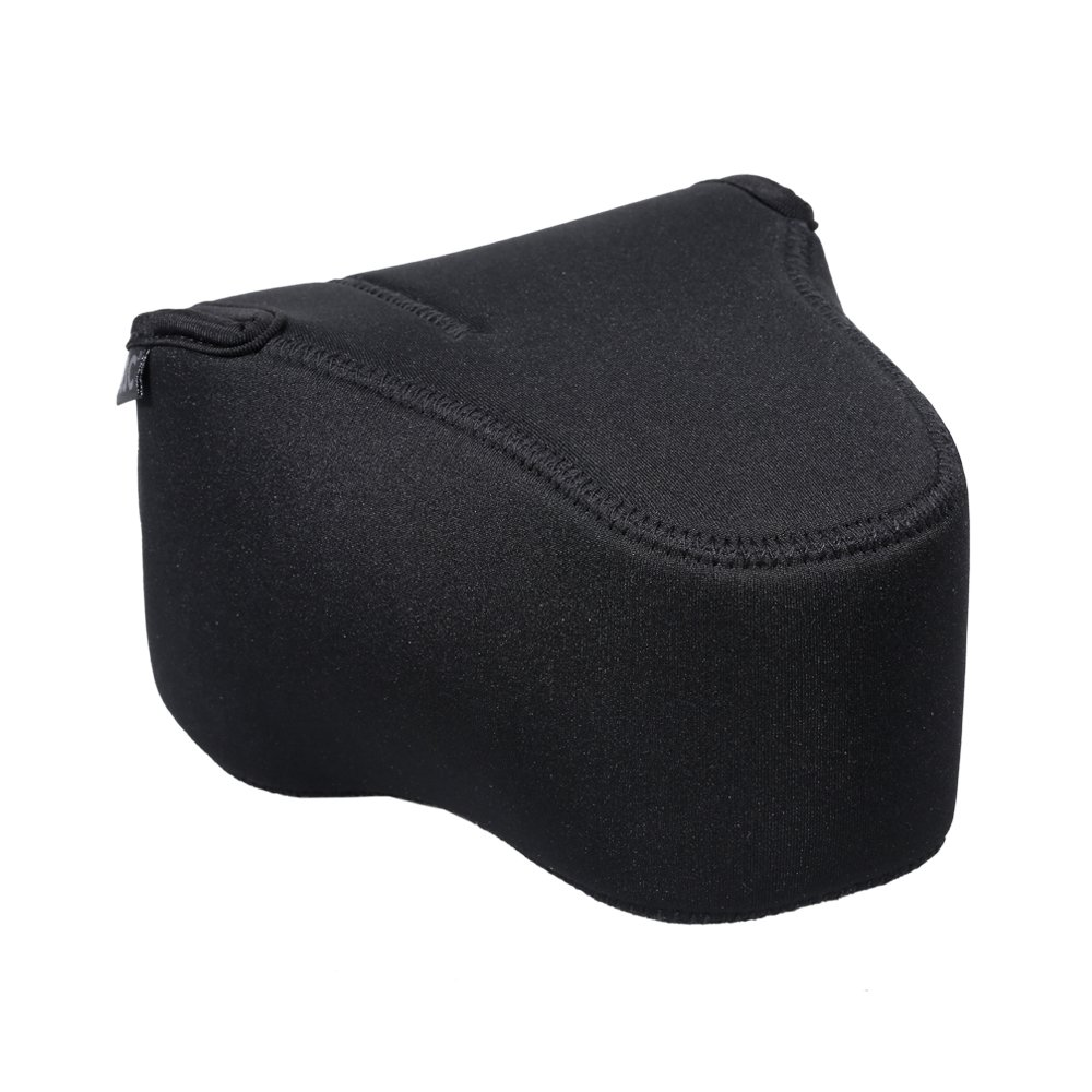 JJC Camera Case Pouch Bag for Canon 5D IV III/6D II/6D/7D II/7D + 24-105mm/24-70mm Lens,Nikon D750/D610/D600/D500/D7500/D7200 + 28-300mm/18-300mm Lens and other Camera & Lens below 5.9 x 4.5 x 7.8'' by JJC