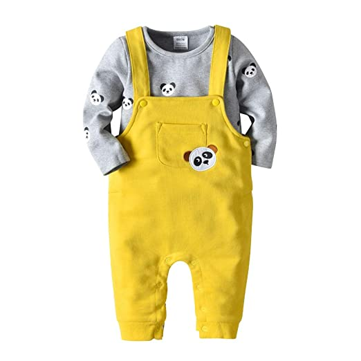 88335bb879d0 Amazon.com  Toddler Baby Boy Girls Outfits