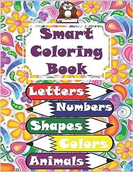 da4527e68ad Smart Coloring Book  117 Pages! Letters (Alphabet)