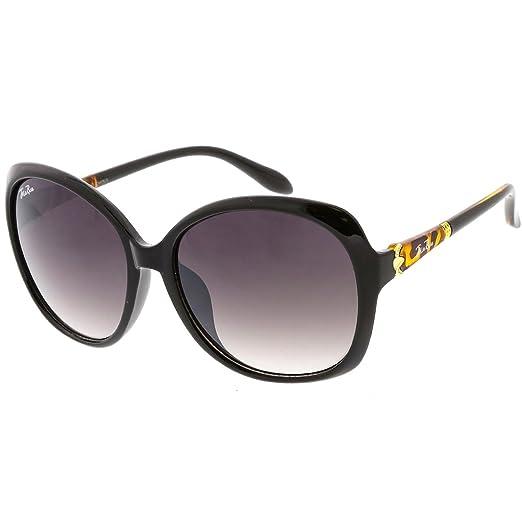9cdd7fb4793 Amazon.com  Jolie Rose Oversize Women Butterfly Frame Sunglasses Model 144   Clothing