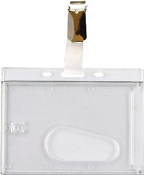 EC-Schutzhülle Ausweishülle Ausweishalter 5 x Namensschilder Kartenhalter