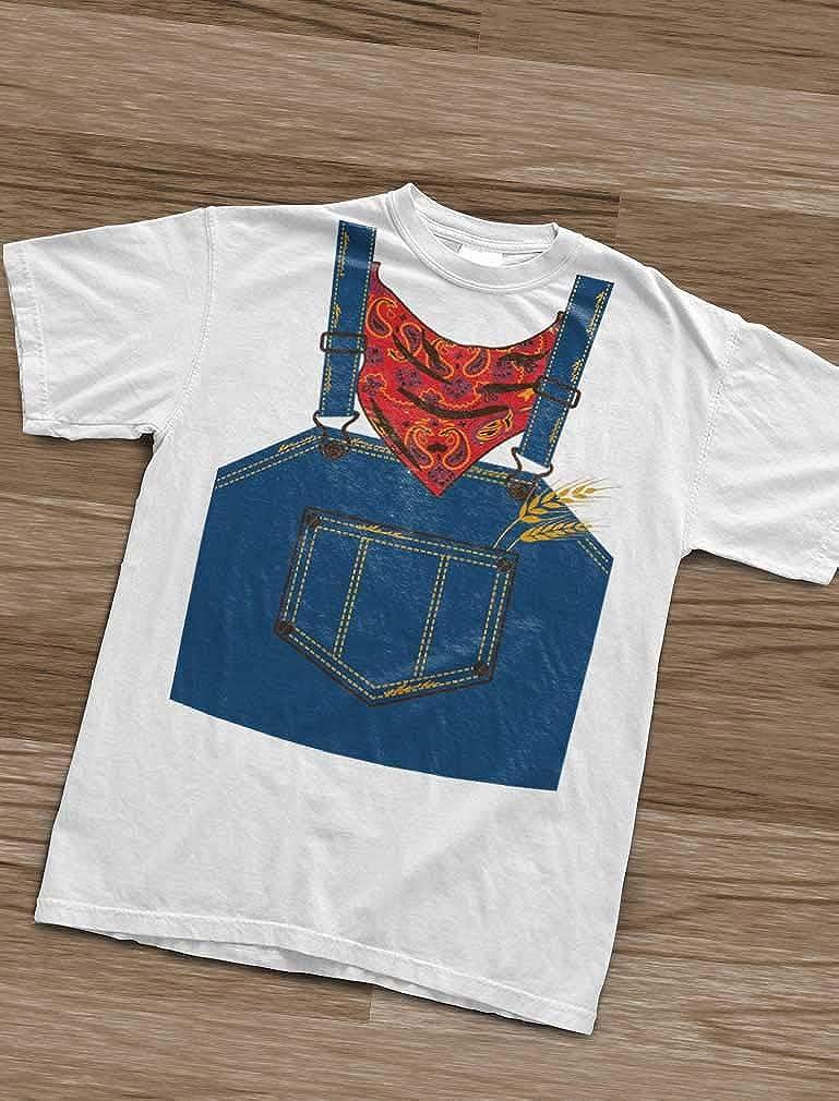 Green Turtle T-Shirts Camiseta para niños - - Rápido y Sencillo Disfraz de Granjero para Pequeños en Halloween: Amazon.es: Ropa y accesorios
