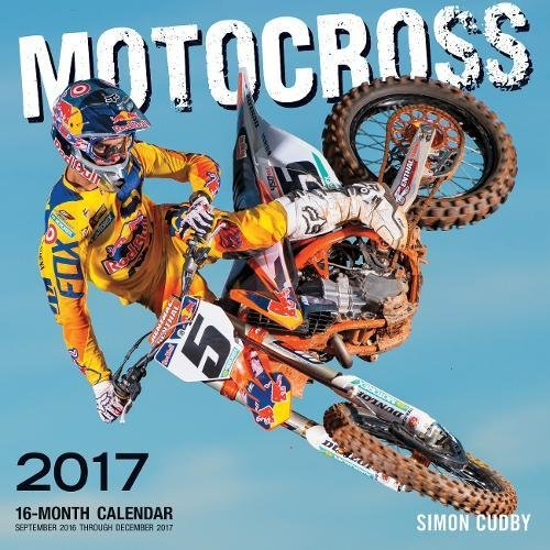 Motocross 2017  16 Month Calendar September 2016 Through December 2017