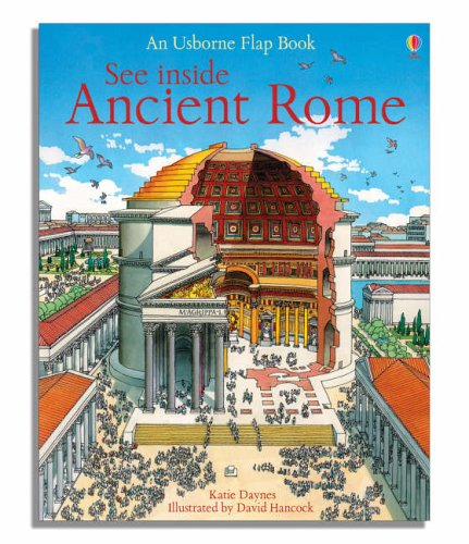 See Inside Ancient Rome (Usborne Flap Books): 1