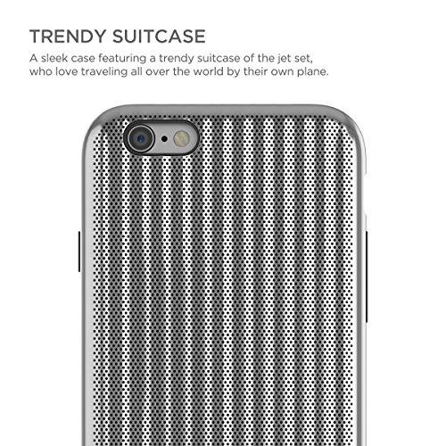STI:L Stilmind Jet Set Coque iPhone 6/6S Argent
