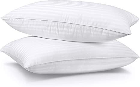 Hypoallergenic SUMITU Bed Pillows for Sleeping 2 Pack Queen Size 20 x 30 Inches