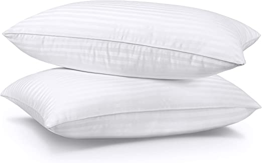 SUMITU Bed Pillows for Sleeping 2 Pack Queen Size 20 x 30 Inches, Hypoallergenic Pillow for Side and Back Sleeper, Soft Hotel Gel Pillows Set of 2, Down Alternative Cooling Pillow
