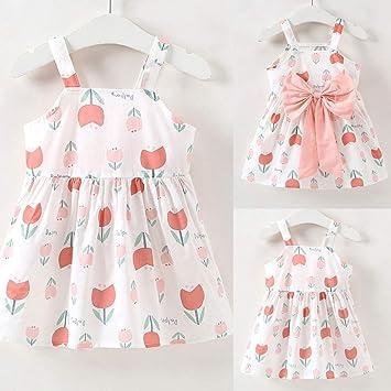589a15261ba7 Amazon.com   Flower Bow Sling Dress