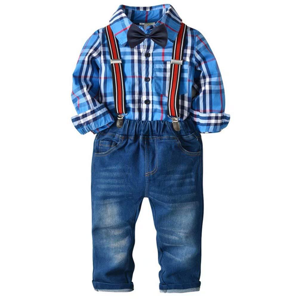Kinderkleidung Jungen und Mädchen Weihnachten Set Frühling und Herbst Kinder Pullover zwei Sätze von roten 100cm