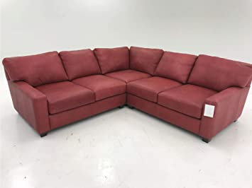 Amazon.com: Leather Sofa Sectional, Red: Kitchen & Dining