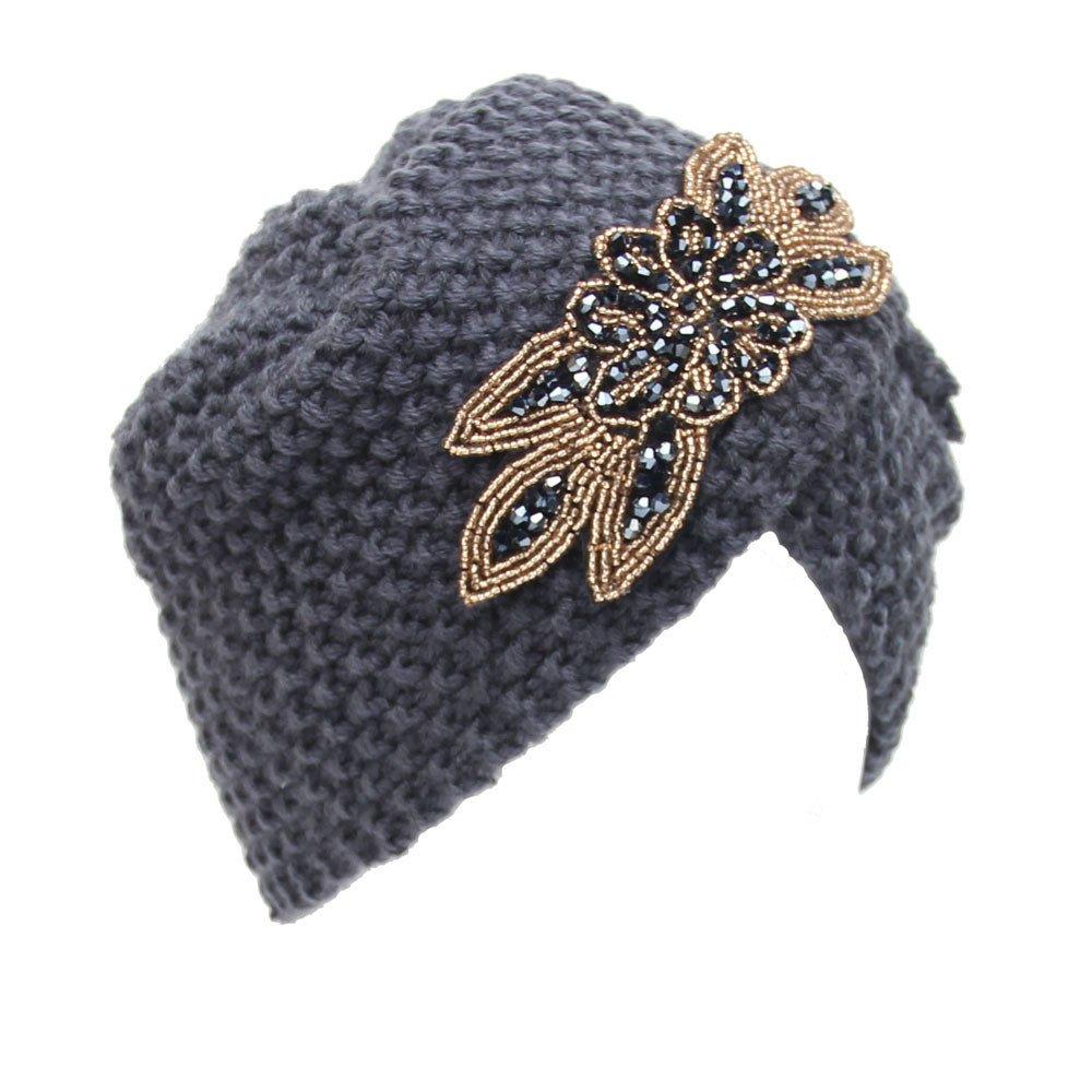 TwoCC-Sombrero de punto, suéter de lana de punto cálido para mujer ...