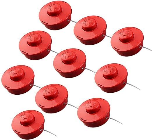 5 Fadenspulen Rasentrimmer Trimmerspule Grastrimmer Ersatzfaden Freischneider
