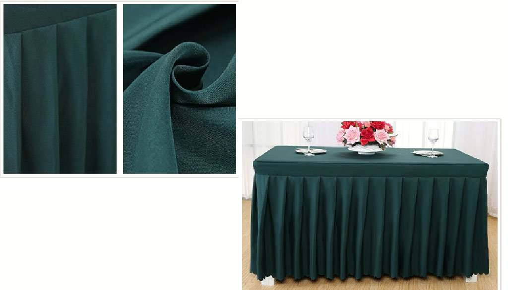 Uus Fregonas Manteles del Hotel Fregonas Uus frías de la Mesa de Comedor Mantelones de la Conferencia Manteles zb (Color : Verde Oscuro) c98295