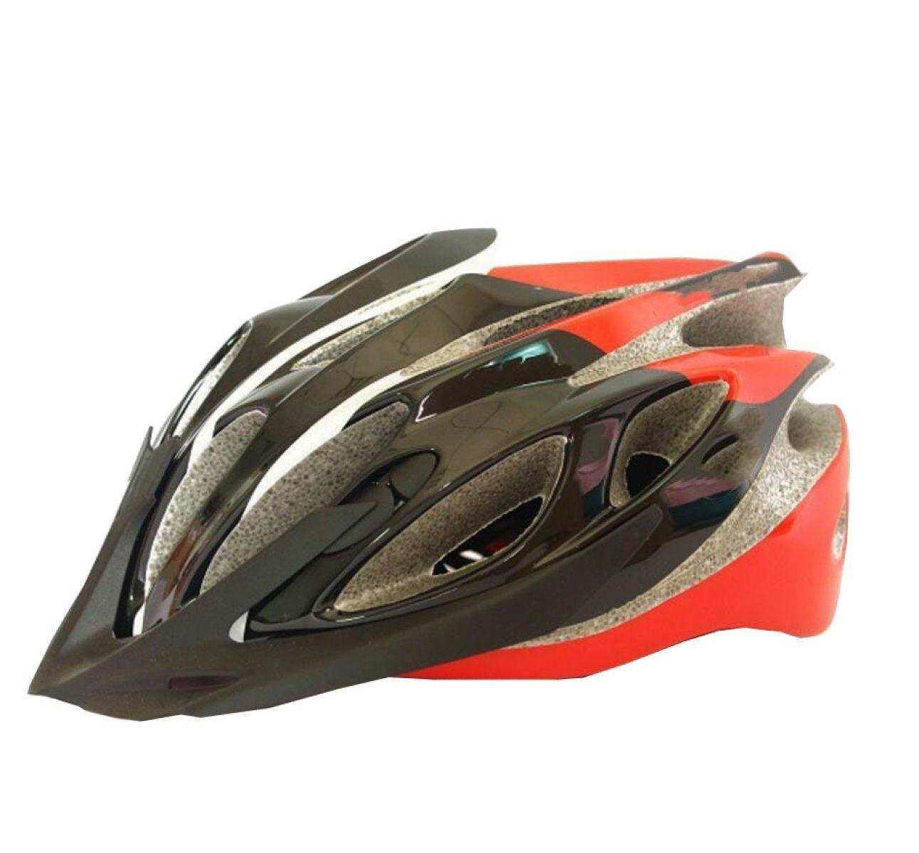 TERMV Highway Mountainbike Helm Integrierter Reithelm Sicherheitsschutz,C