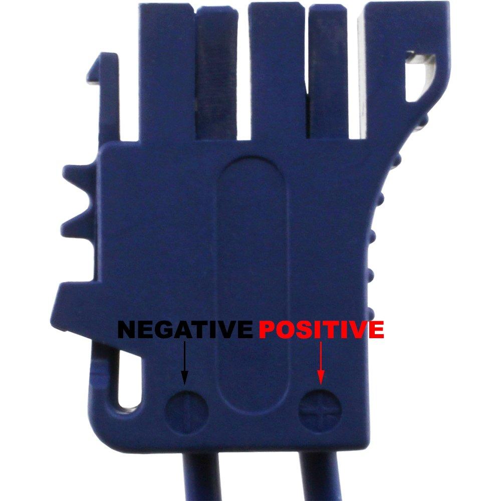 New Blue Peg Perego Battery Side Connector 12v Gaucho Gator Fuse Box Sportsman Toys Games