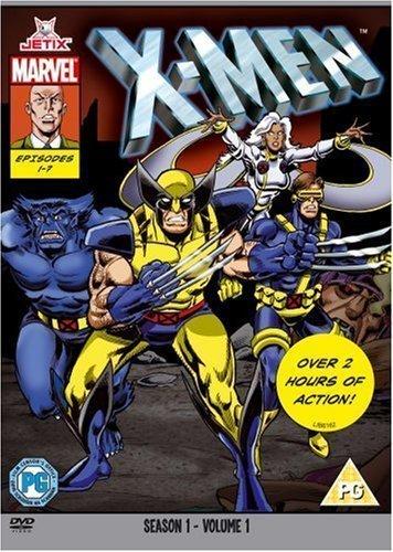 X-Men  - Season One Part One (Marvel Originals Series - 90s) [DVD] [1992] (X Men The Animated Series Jean Grey)