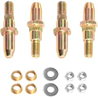 Door Hinge Pin and Bushing Kits Replacement for 1999-up GMC Sierra/Chevrolet Silverado Chevy SUV & Truck 19299324
