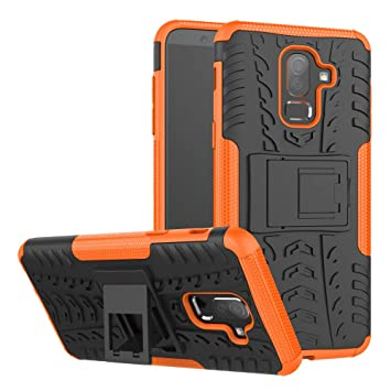 Amazon.com: AICEDA Samsung Galaxy J8 2018 Case, Defender ...