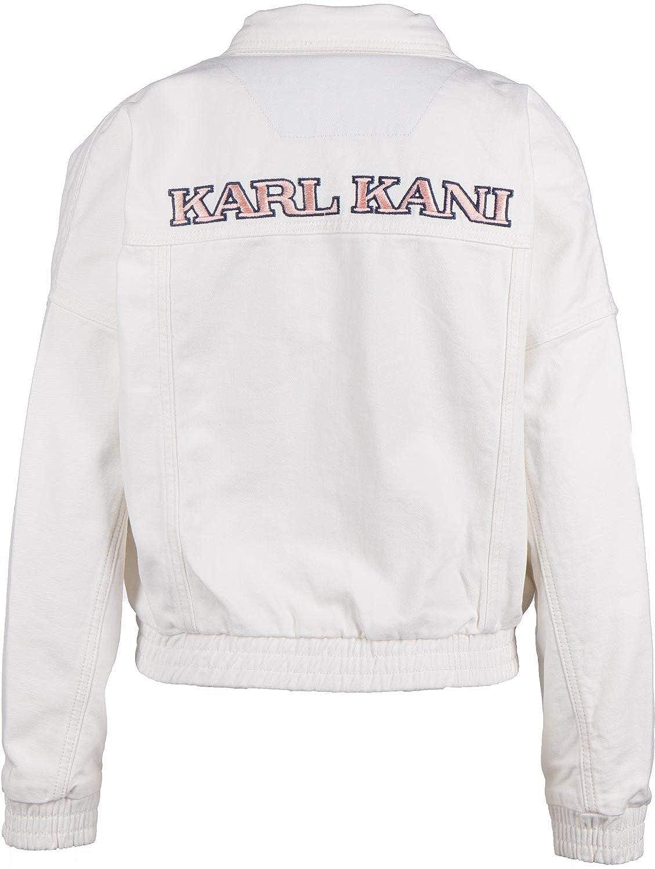 Karl Kani Retro W Chaqueta vaquera white: Amazon.es: Ropa y ...