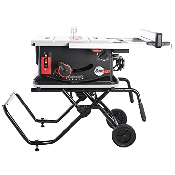 Sawstop Jss Mca Jobsite Saw With Mobile Cart Null Amazon Com