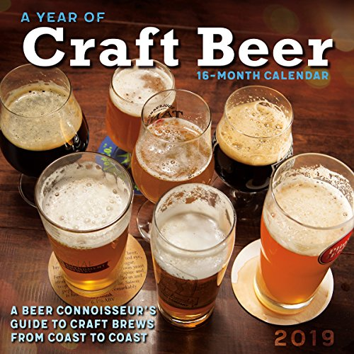 A Year of Craft Beer - A Beer Connoisseur's Guide to Craft Brews from Coast to Coast 2019 Wall - Wall Brewery