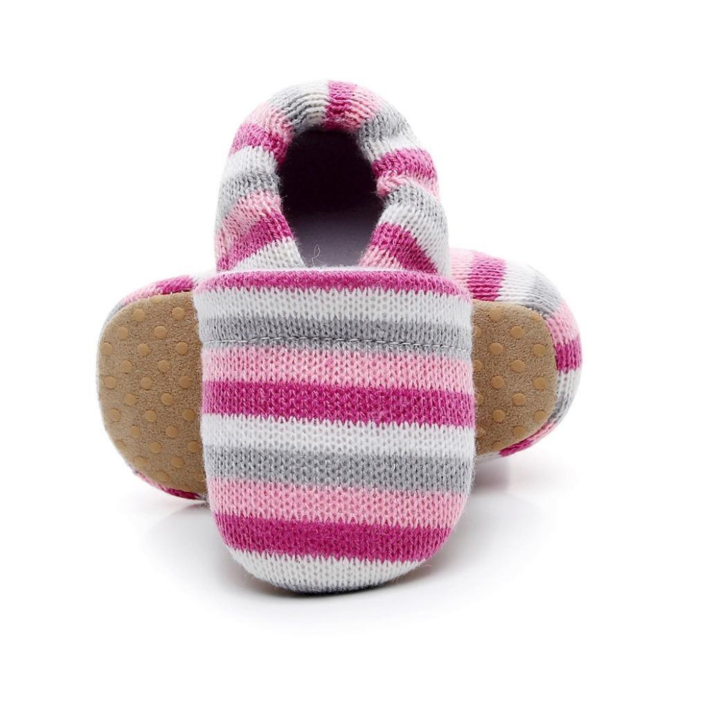 Minshao Toddler Newborn Baby Boys Girls Crib Winter Boots Prewalker Warm Shoes For 0~18 Month