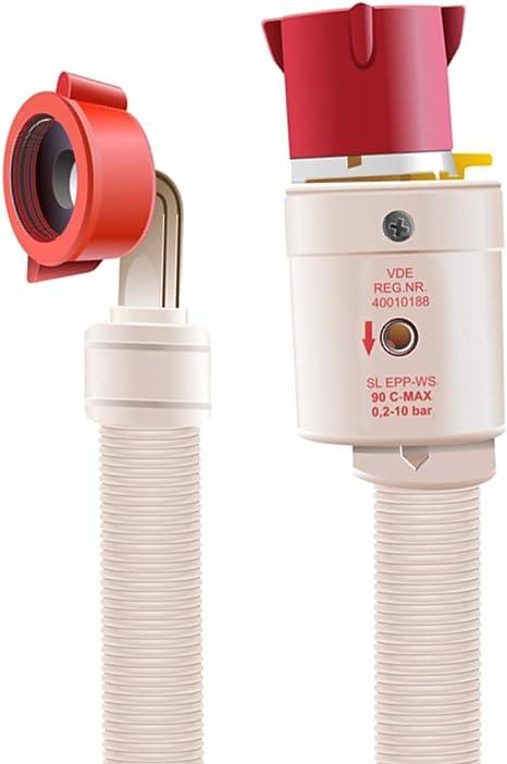 """NEU Aquastopschlauch Zulaufschlauch 1,5m 90°C 3//4/"""" Waschmaschine Geschirrspüler"""