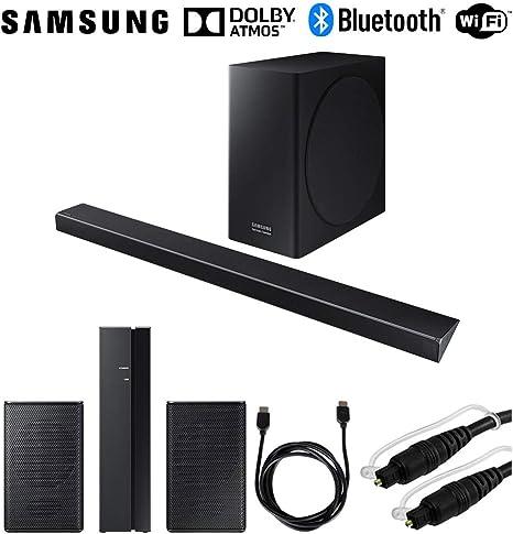 Samsung - Sistema de barra de sonido de 3.1.2 canales con subwoofer inalámbrico (HW-Q70R/ZA)