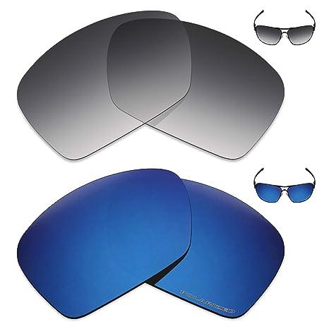 48a2ba5da Amazon.com: Mryok+ 2 Pair Polarized Replacement Lenses for Oakley ...