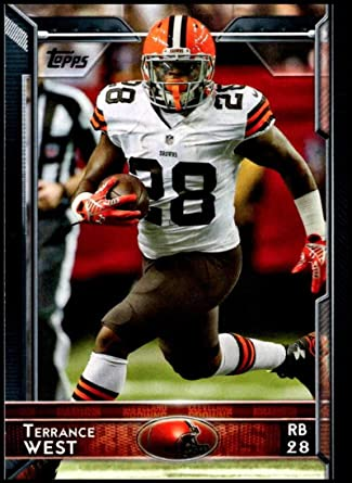 Amazon.com: 2015 Topps Football #71 Terrance West Cleveland Browns ...