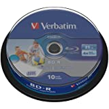 10 Verbatim DataLife BD-R Blu Ray Vergine 25GB printable stampabile