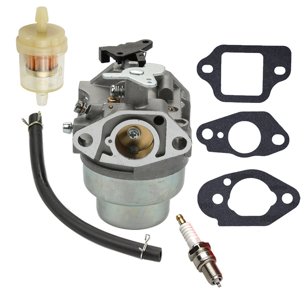 Amazon.com : Panari GCV160 Carburetor + Fuel Filter Spark Plug for Honda  GCV160A GCV160LA GCV160LE Engine HRB216 HRR216 HRS216 HRT216 HRZ216 Lawn  Mower ...