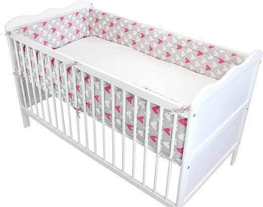 Kleinkind Kinderzimmer Lang Rundum Gitterbett Nestchen 140x70//420 cm