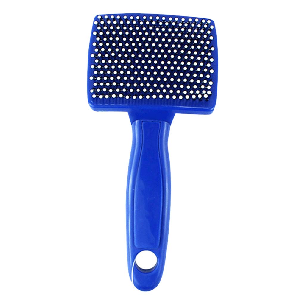 HUYP bluee Pet Brush Dog Supplies Massage Brush Puppy Comb Cat Comb Toy Dog Needle Comb