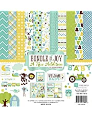 Echo Park Paper Company BJBT78016 Bundle of Joy Boy 2 Collection Kit
