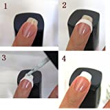 Girls Gallery French Manicure Strip (Set Of 3)