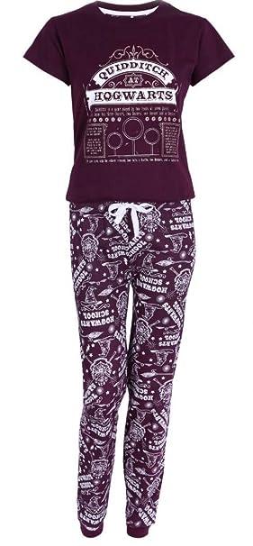 Love to Lounge - Pijama - para Mujer Rojo Granate S