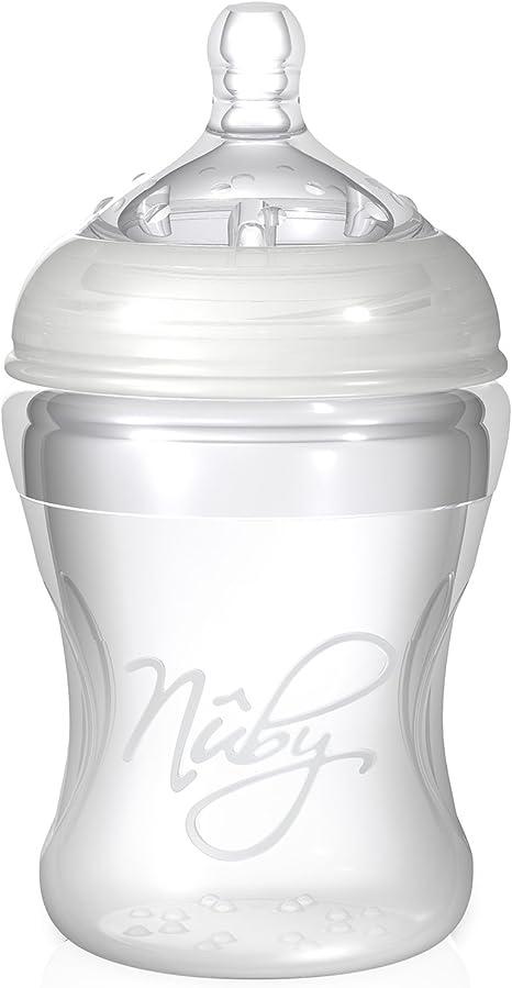 Nuby Natural Touch NT67017 Biberon color transparente