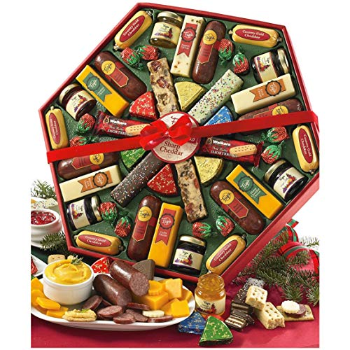 - Figi's Wisconsin Cheeses & Sausage Holiday Feast Package