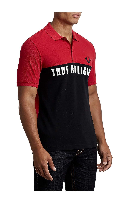 Amazon True Religion Mens Sport Football Polo Shirt In Black